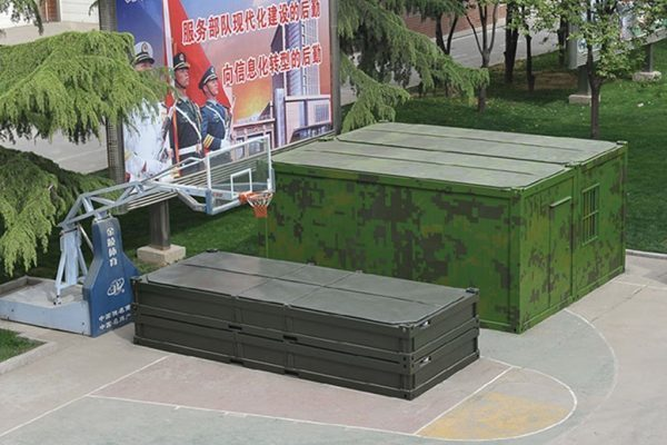 modular tactical shelter