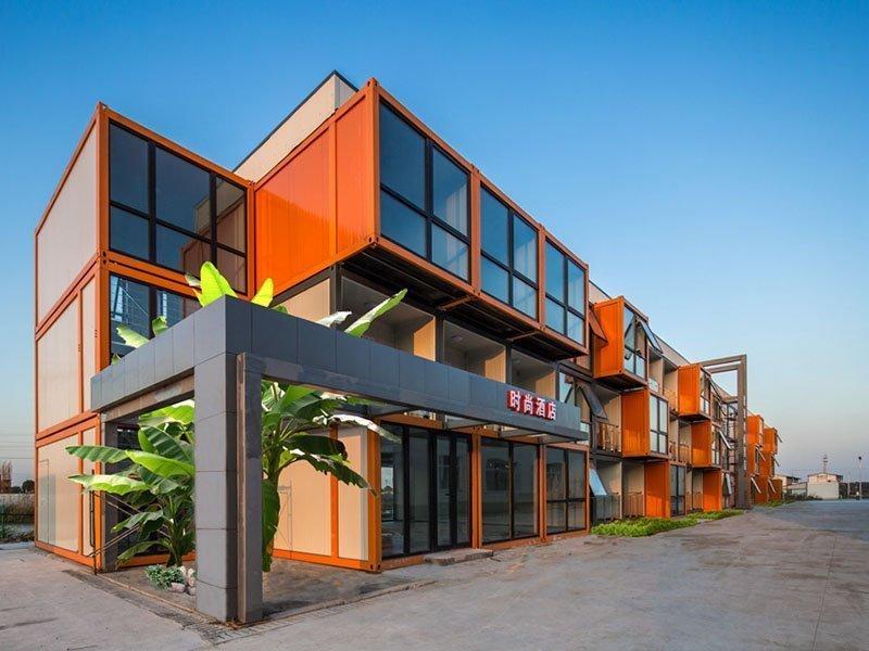 modular container hotel