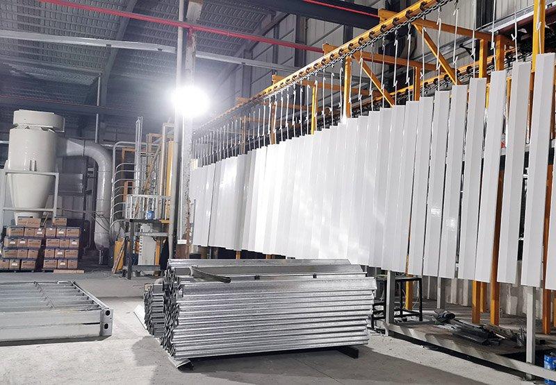 auto powder coating line