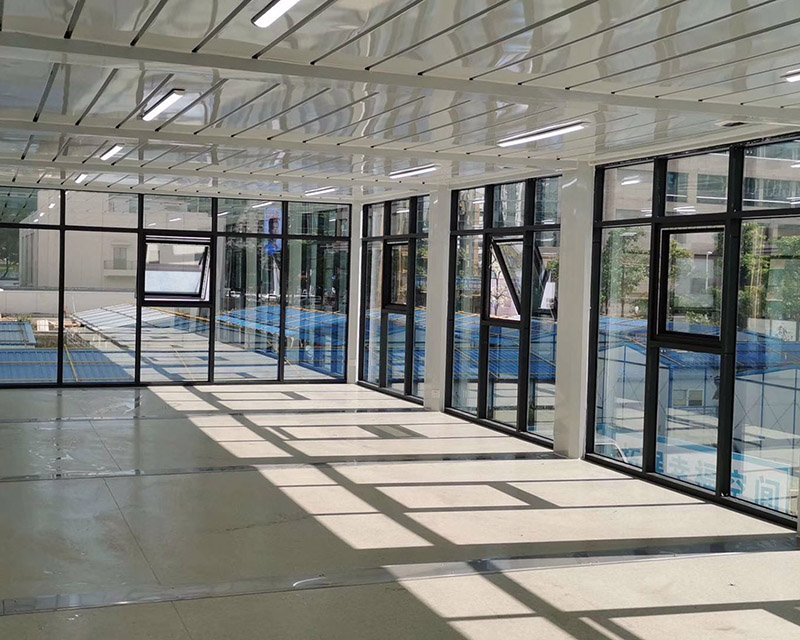modular office building space