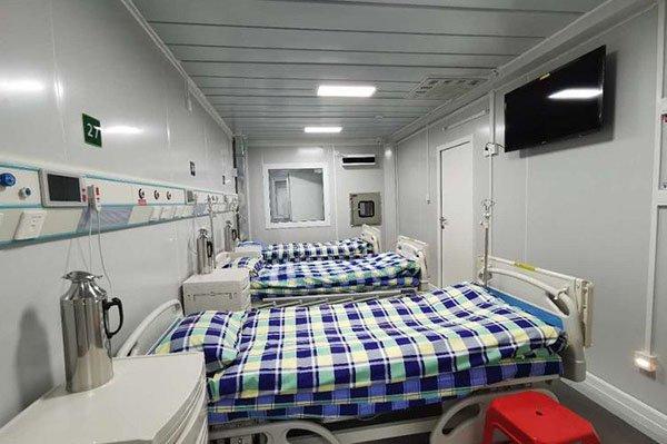 modular container temporary hospital