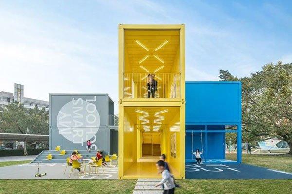 portable container school building