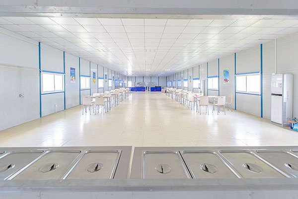 temporary classrooms dining
