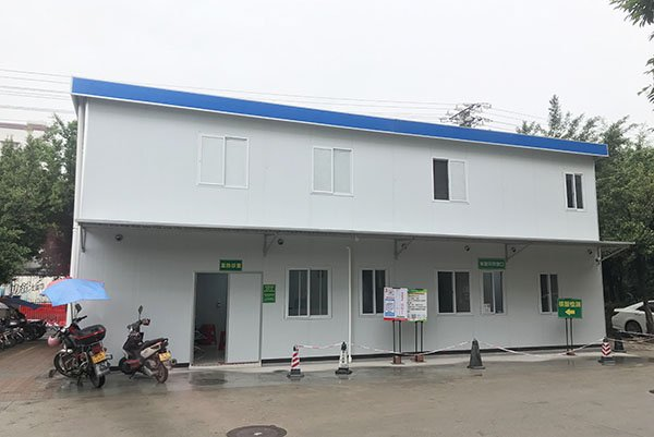 temporary hospital buildings