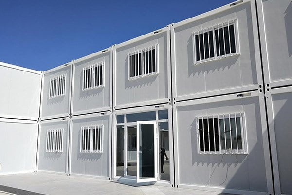 modular construction site container office