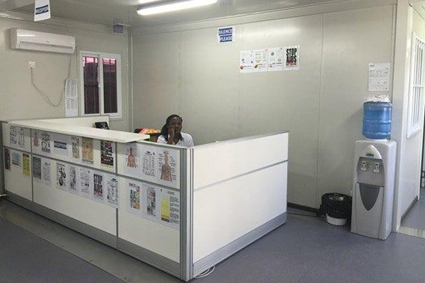 prefab modular construction site office
