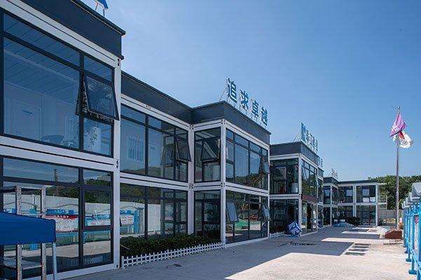 prefab office building