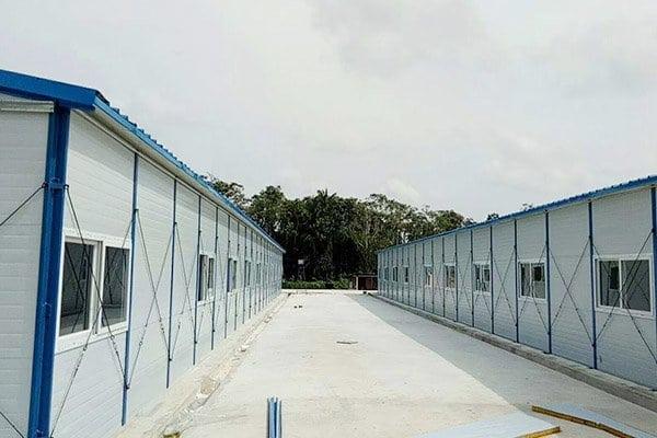 temporary man camp housing